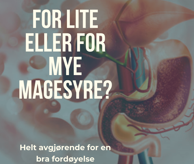 For lite magesyre