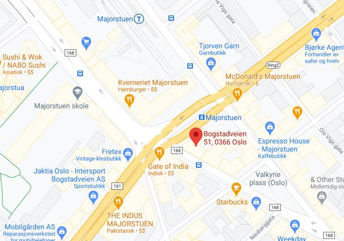 Oslo - Majorstuen