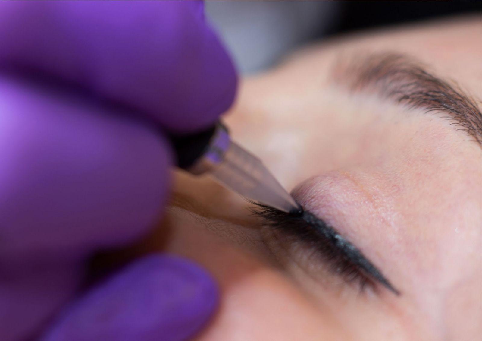 permanet eyeliner tatovering